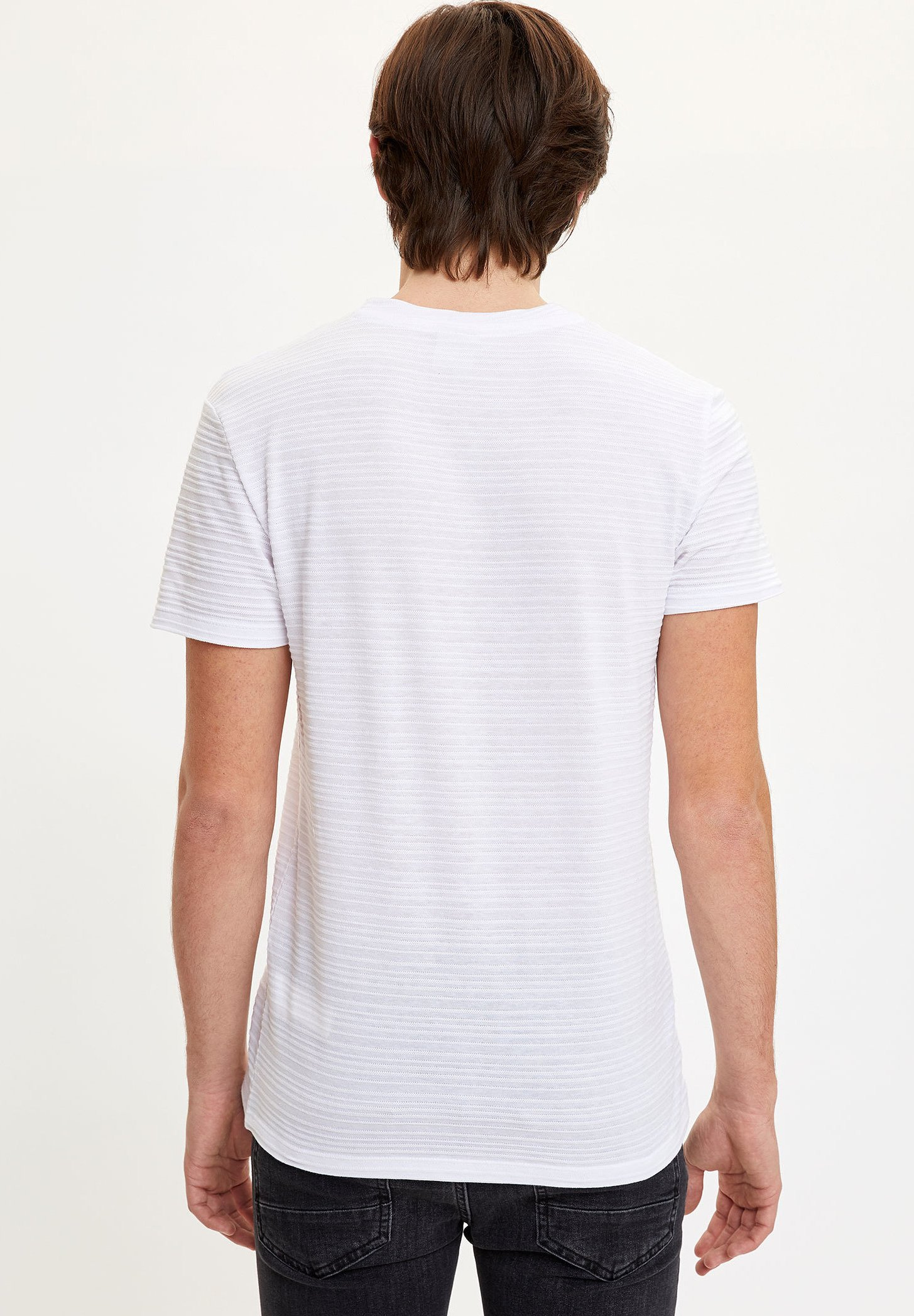 DeFacto Print T-shirt - white mhAJq