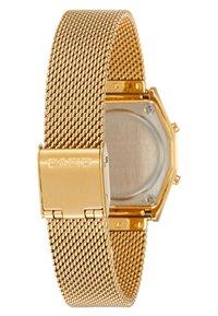 Casio - Digital watch - goldfarben/schwarz - 3