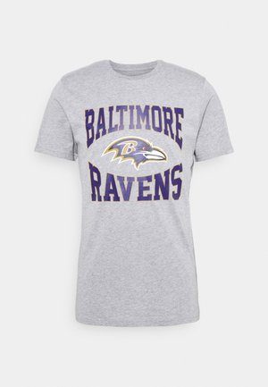 BALTIMOR RAVENS NFL TEAM LOGO TEE - Print T-shirt - grey