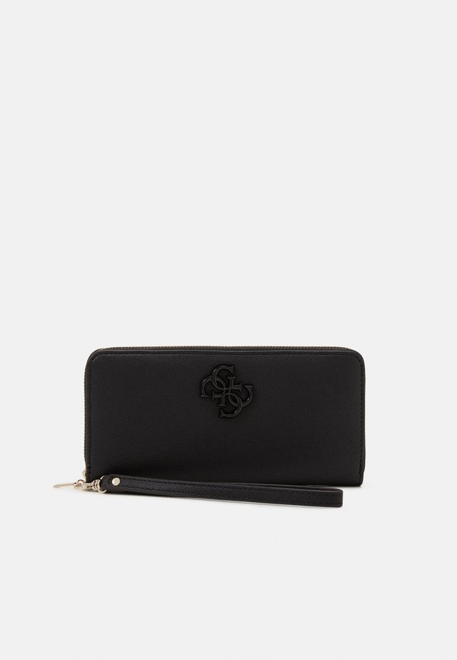 NOELLE LARGE ZIP AROUND - Portefeuille - black