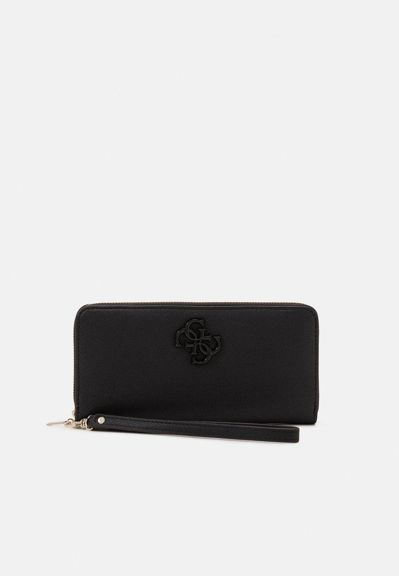 Guess - NOELLE LARGE ZIP AROUND - Wallet - black