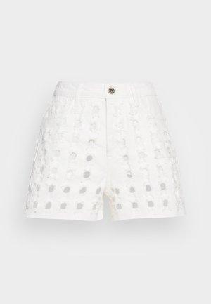 YESTERDAY - Denim shorts - white