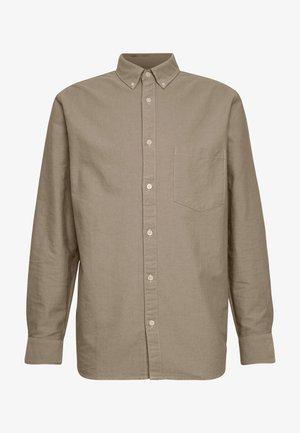 HENNING OXFORD SHIRT - Shirt - beige