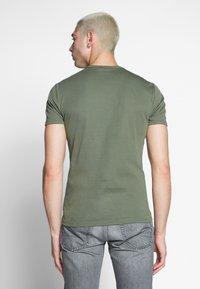 G-Star - BASE V-NECK T S/S 2-PACK - T-shirt basic - oliv - 3