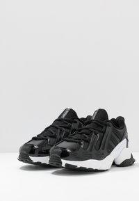 adidas Originals - EQT GAZELLE  - Sneakersy niskie - core black/footwear white - 4