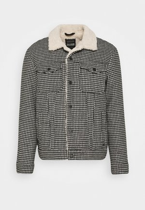 HOUNDSTOOTH TRUCKER JACKET - Light jacket - combo a