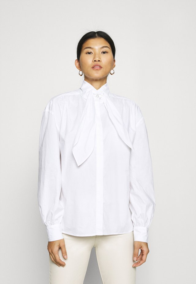 MALUKA - Button-down blouse - white