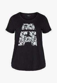 Active by Zizzi - Print T-shirt - black - 3