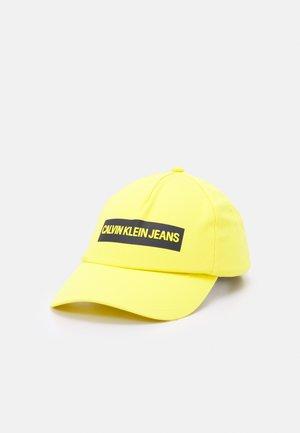 INSTITUTIONAL UNISEX - Czapka z daszkiem - yellow