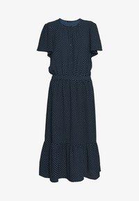 SAGA - Vestido informal - blue/white