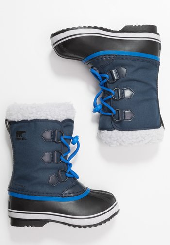 YOUTH YOOT PAC UNISEX - Winter boots - collegiate navy/super blue