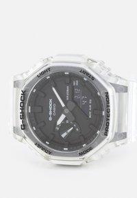 G-SHOCK - WHITE SKELETON GA-2100SKE UNISEX - Digitální hodinky - transparent/white - 3