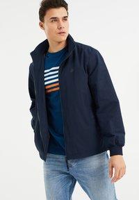 WE Fashion - Print T-shirt - navy blue - 3