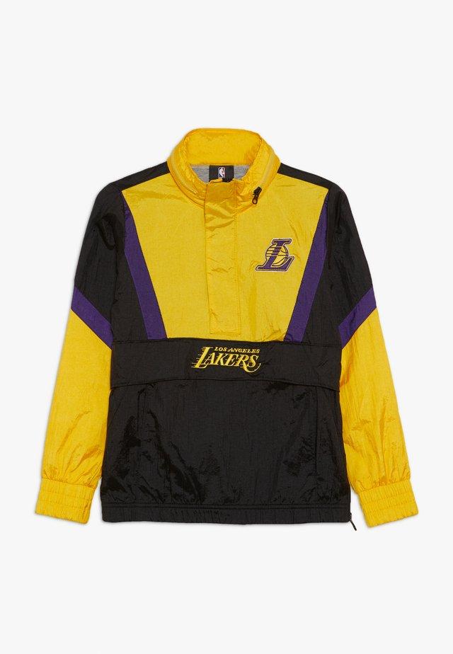 NBA LOS ANGELES LAKERS WARM UP CRINKLED PACK  - Fanartikel - black/yellow