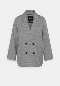 Short coat - white/black