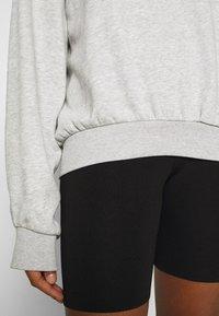 Weekday - PAMELA OVERSIZED - Sweatshirt - light grey - 5
