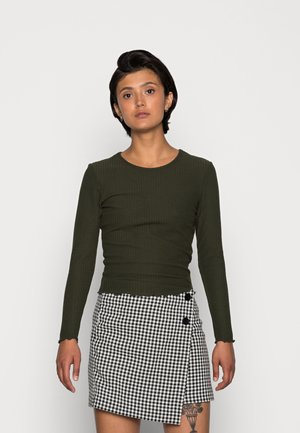 ONLNELLA O NECK - Long sleeved top - rosin