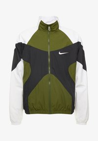 Nike Sportswear - ISSUE  - Training jacket - legion green/white/black - 4
