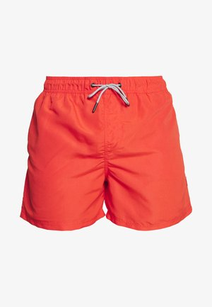 JJIARUBA SWIM  SHORTS - Swimming shorts - fiery red