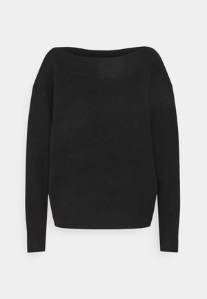 CARMEN - Jumper - deep black