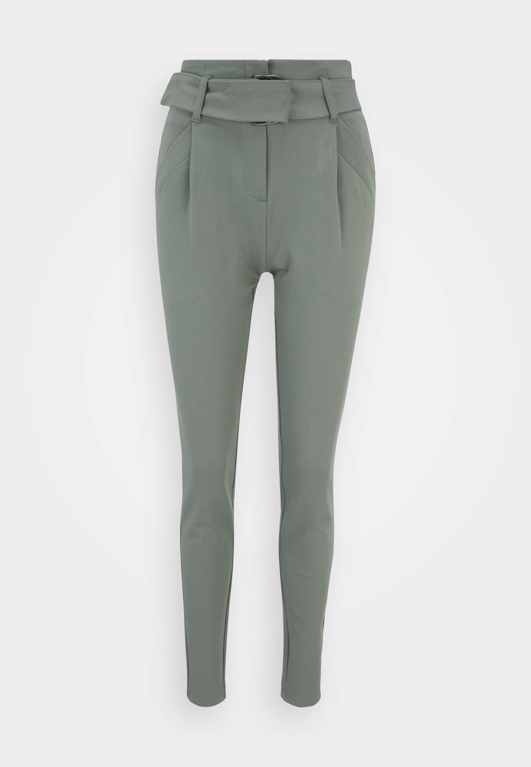 Women VMBAILEY PAPERBAG BELT PANTS - Trousers