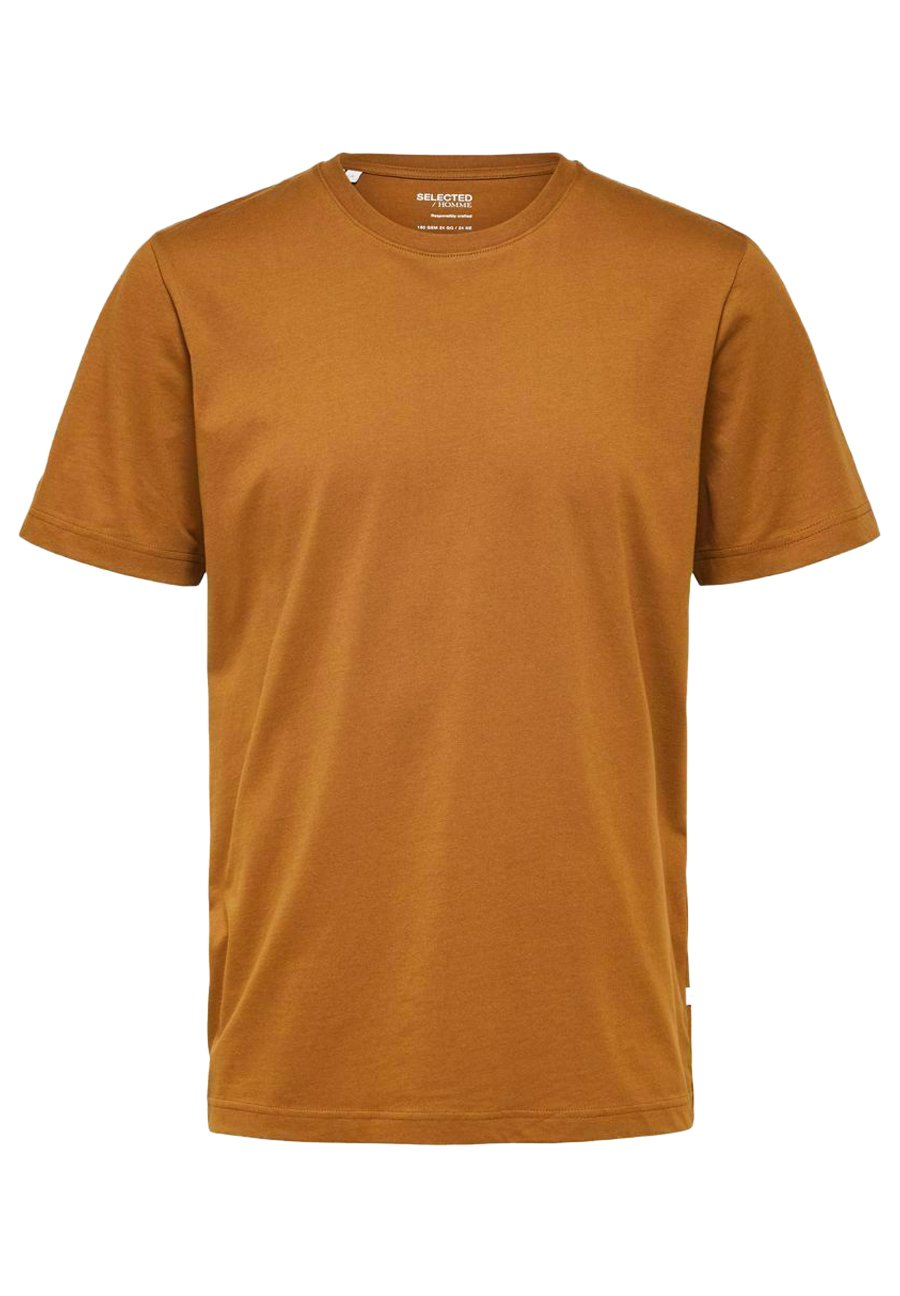 Homme SLHNORMAN O NECK TEE  - T-shirt basique