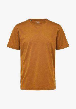 SLHNORMAN O NECK TEE  - Basic T-shirt - monks robe