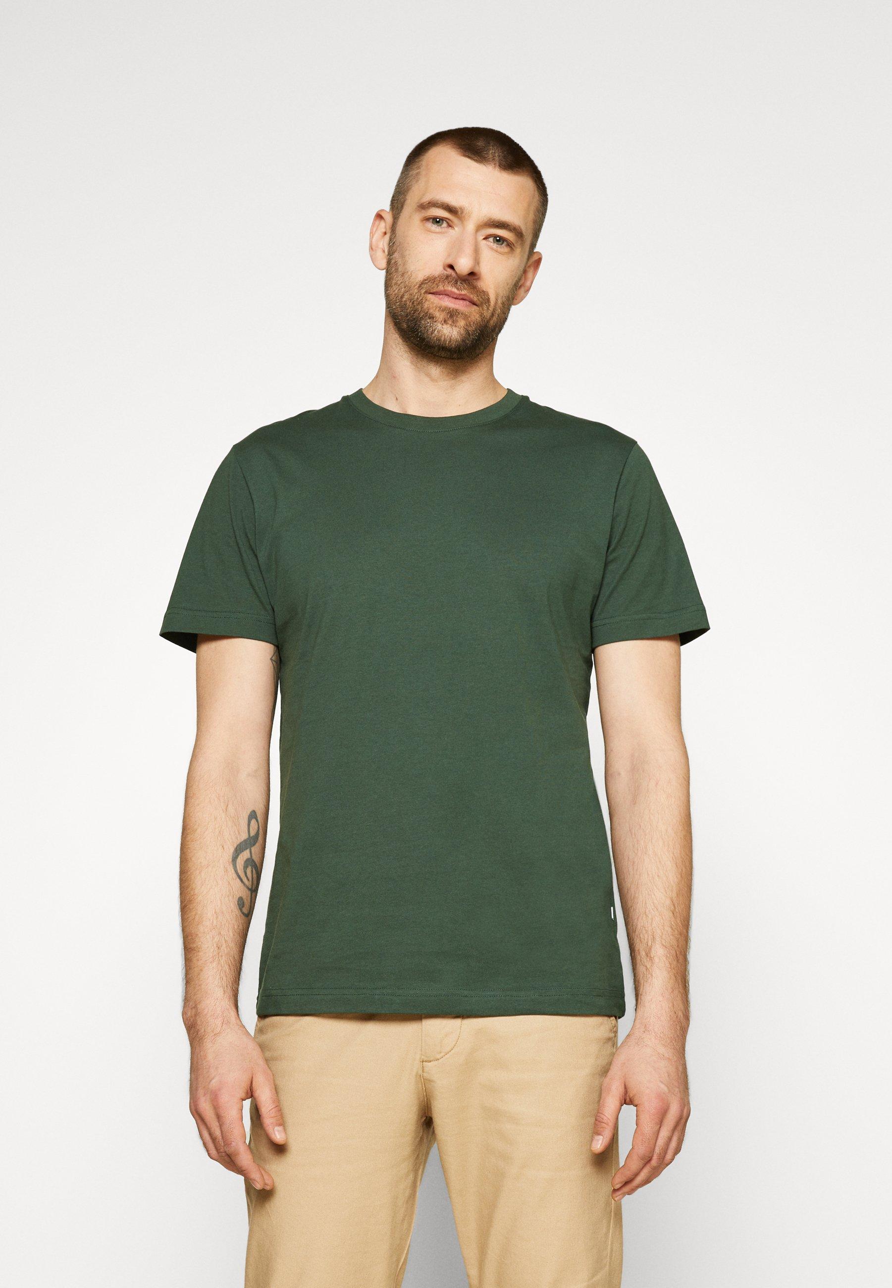 Men SLHNORMAN O NECK TEE  - Basic T-shirt