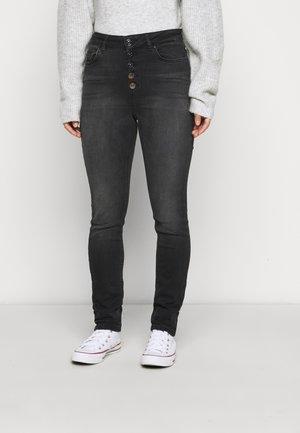 ONLBLUSH BUTTON  - Jeans Skinny Fit - black