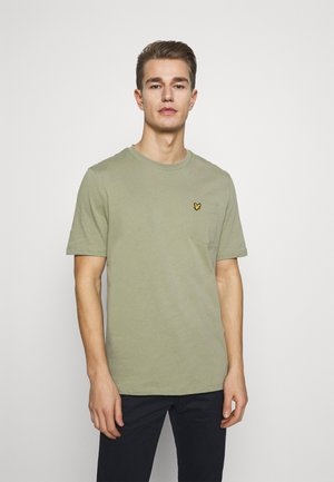 RELAXED POCKET - Basic T-shirt - moss