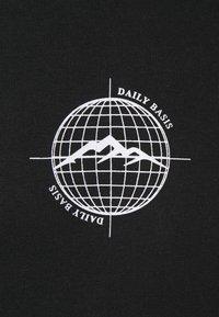 Daily Basis Studios - WORLDWIDE HOOD UNISEX - Sweatshirt - black - 2