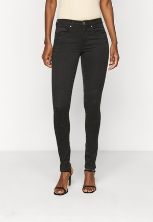 ONLROYAL LIFE ZIP - Jeans Skinny Fit - black