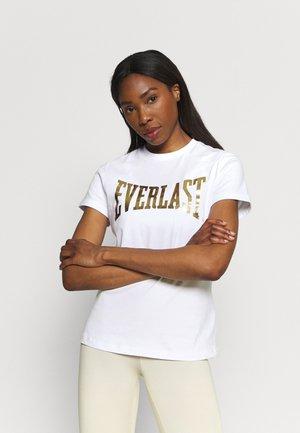 BASIC TEE LAWRENCE - T-shirt imprimé - white
