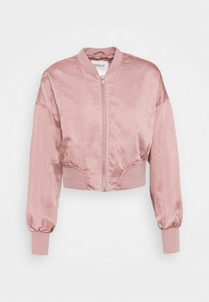 ONLJACKIE CROPPED JACKET  - Bomber Jacket - adobe rose