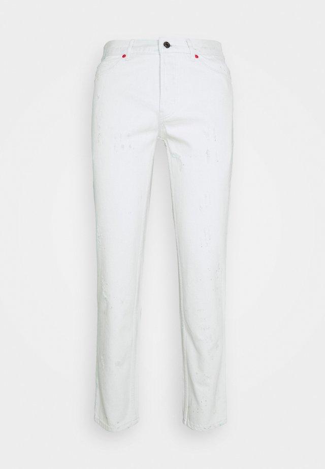 Straight leg jeans - natural