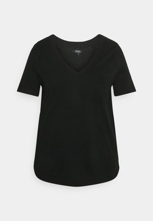 UTILITY - Basic T-shirt - black