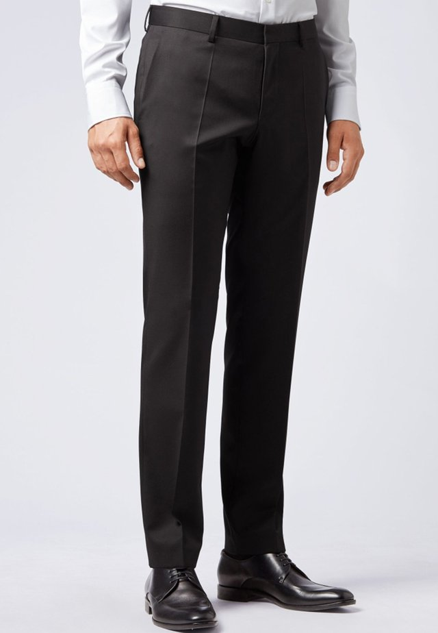 GIBSON - Suit trousers - black