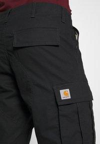 Carhartt WIP - REGULAR CARGO COLUMBIA - Shorts - black - 3