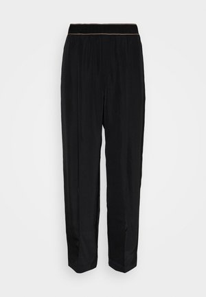 SPRING TROUSER - Trousers - black