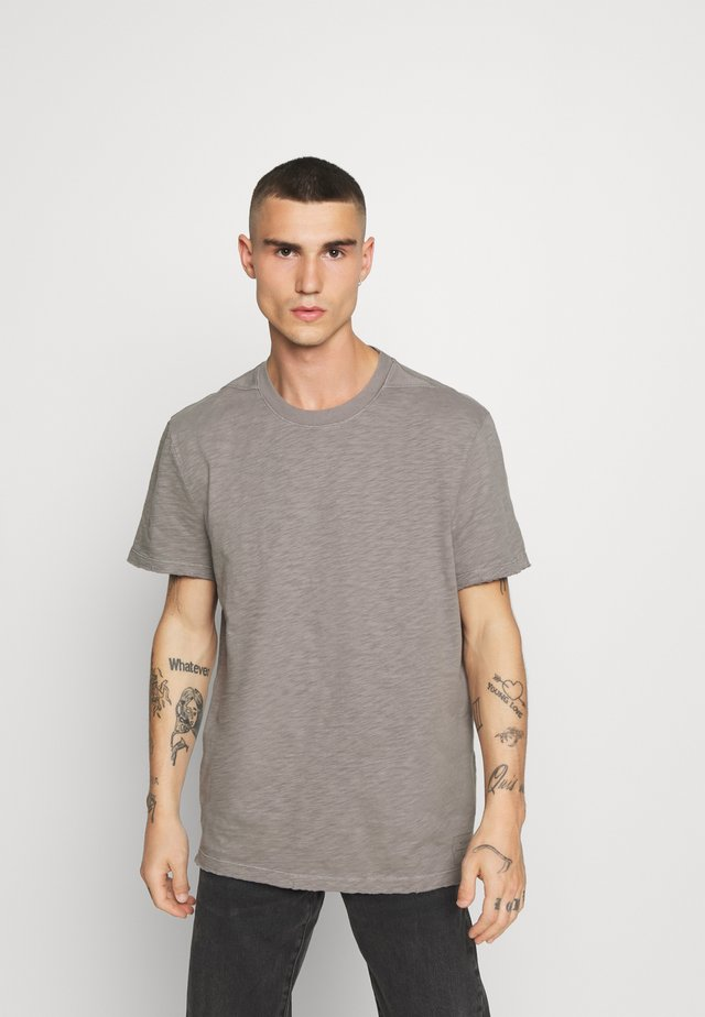 MATEO  CREW - T-shirt basic - flint grey