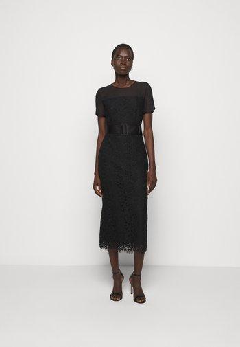 KELACY - Shift dress - black