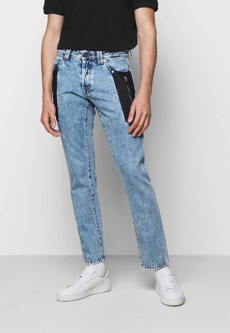 Just Cavalli - PANTALONE TASCHE - Džíny Slim Fit - blue denim