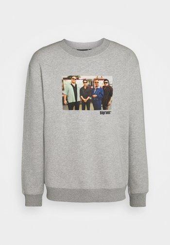 THE SOPRANOS GROUP CREW - Sweatshirt - grey marl