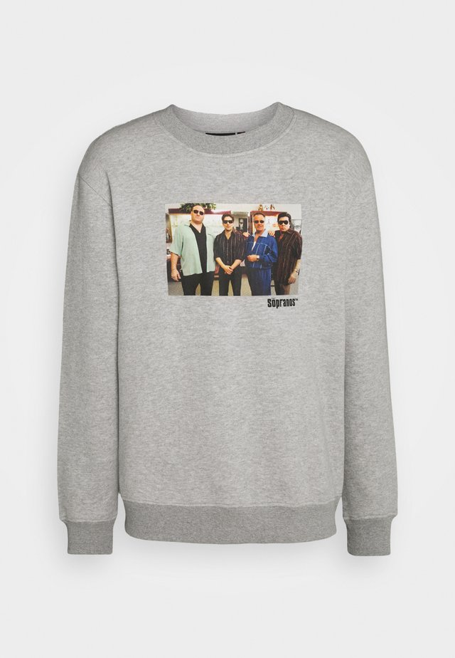 THE SOPRANOS GROUP CREW - Sweater - grey marl