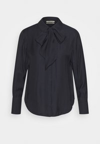 Scotch & Soda - WITH BOW AT NECK - Button-down blouse - mystic night - 0