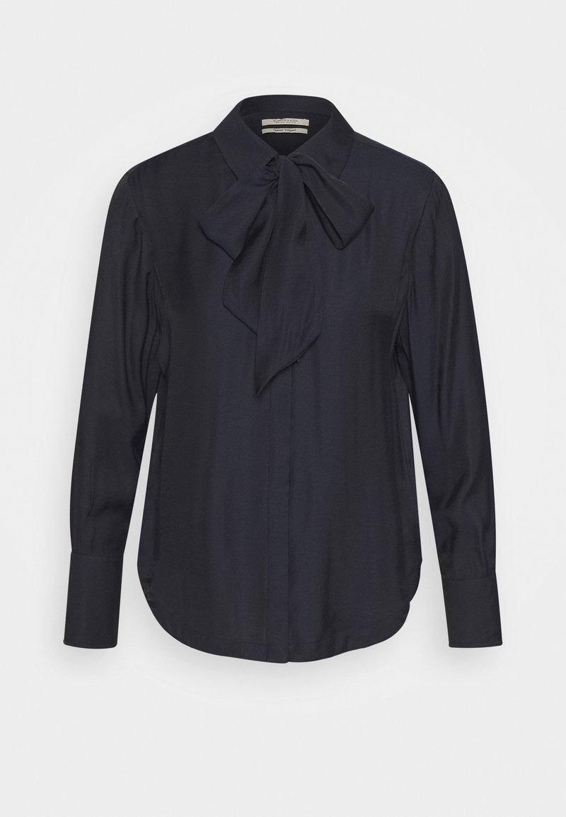 Scotch & Soda - WITH BOW AT NECK - Button-down blouse - mystic night