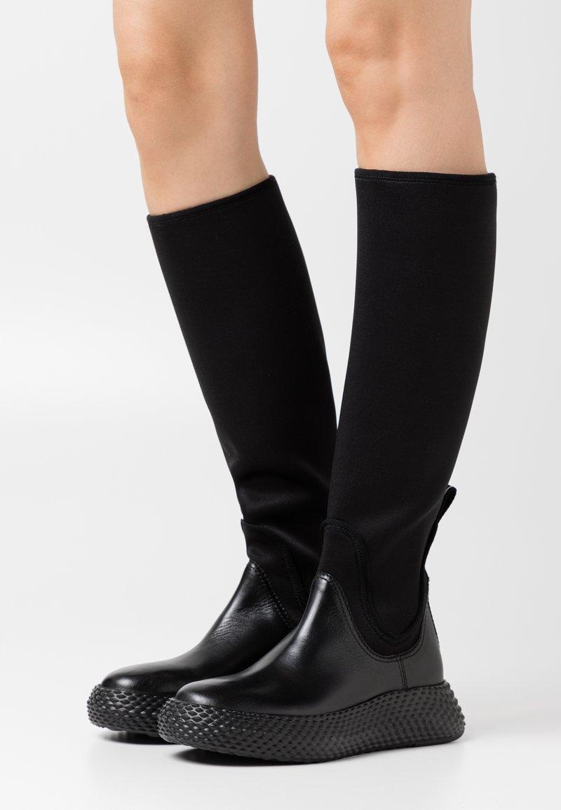 Emporio Armani - Boots - black