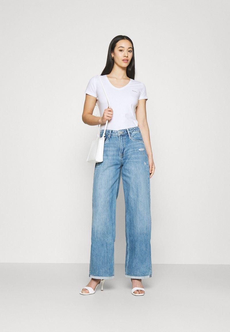 Pepe Jeans - BEA 2 PACK - Basic T-shirt - black/white