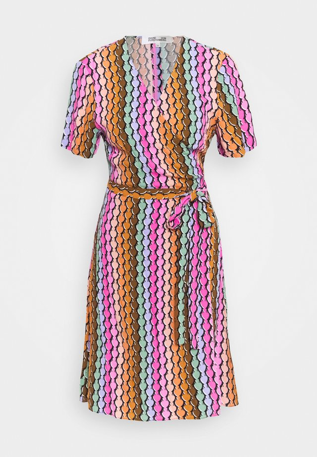 SAVILLE MINI - Vestido informal - multi coloured