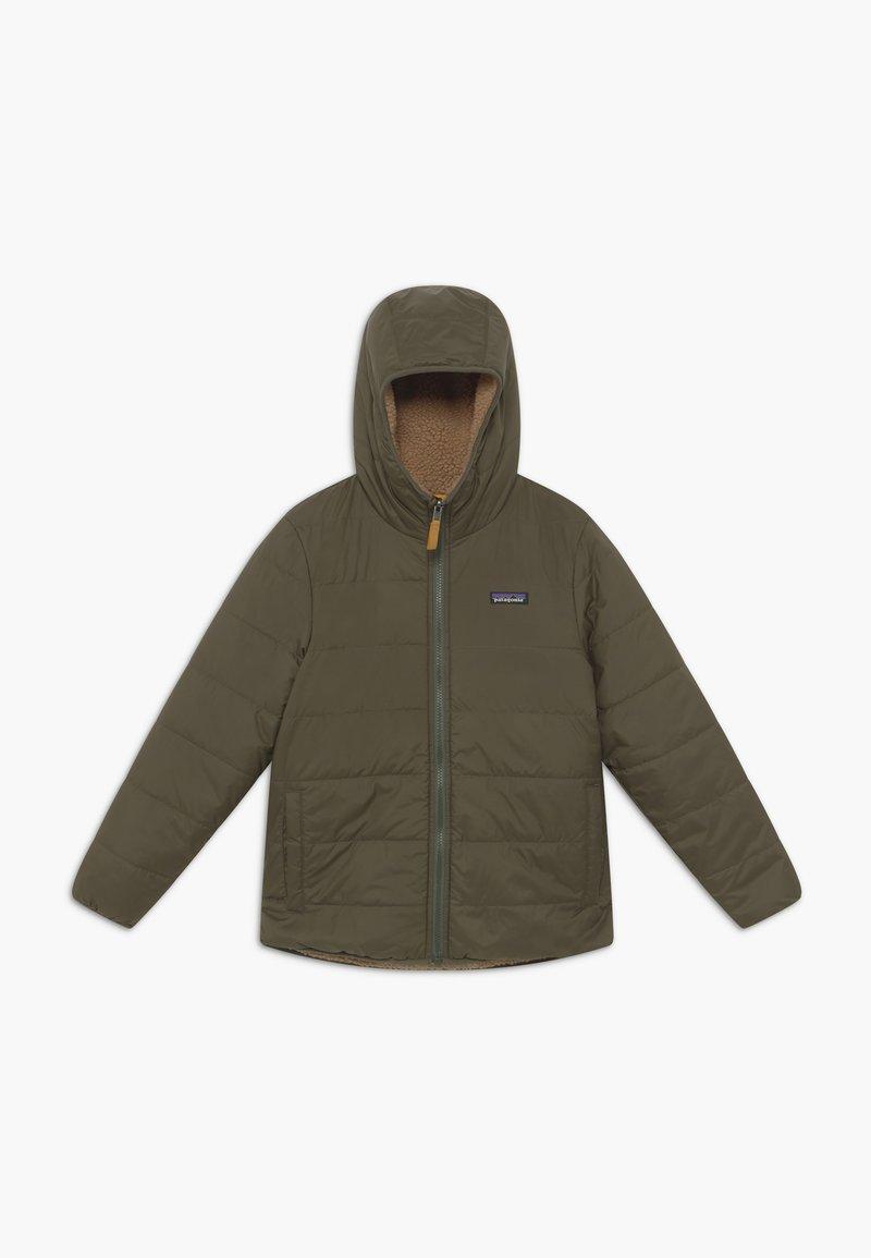 Patagonia - BOYS' REVERSIBLE READY FREDDY HOODY - Winter jacket - basin green